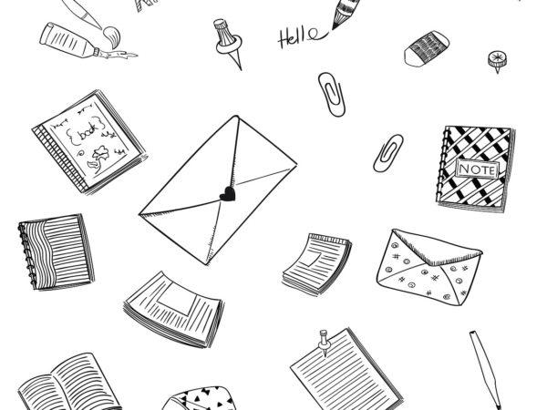 Letter Communication Doodle  - Saydung89 / Pixabay